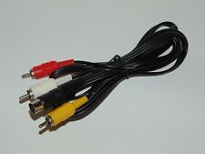 Sega Saturn: Cable video RCA compatible