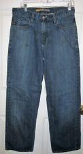 Levis Silvertab low loose jeans 30X30 mens black label