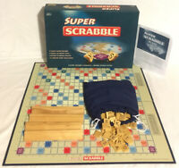 Super Scrabble Board Game 2006 Rare 100% Complete