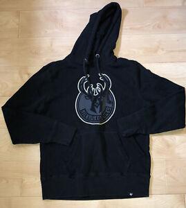 Milwaukee Bucks, Adult Small, Hooded Sweatshirt