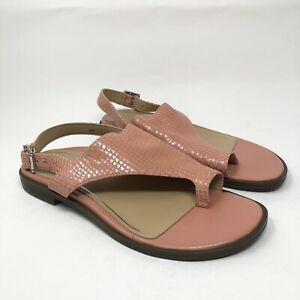 Vionic Women's Citrine Ella Flat Sandal Size 6 Pink