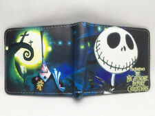 The Nightmare Before Christmas Jack Skellington Leather Wallets Purse Gift #New