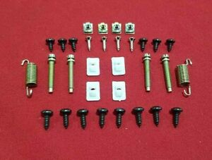 FORD XY FALCON FAIRMONT HEADLIGHT BUCKET & SURROUND CLIPS FITTING KIT SUIT GT