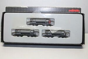 Märklin 82090 Mini Club Carbide Flaschenwagen-Set Gauge Z Original Packaging