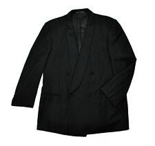 Ermenegildo Zegna Tuxedo Jacket Slim 44R Lrg Double Breasted Dinner Shawl Lapel