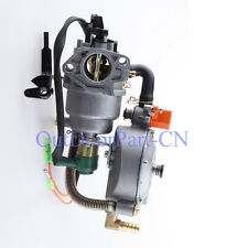 Dual Fuel Generator gasoline Carburetor FOR Honda 5000W GX390 188F Water Pump