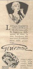 W2354 Cipria Giacinto Innamorato di Gi.vi.emme - Pubblicità del 1930 - Advert