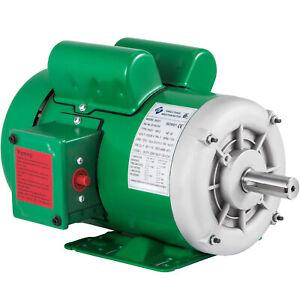 "Electric Motor,NEMA Farm Duty, 2 HP 1725RPM 145T 1PH, 7/8"" Shaft, TEFC,115/230V"