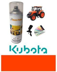 Kubota Tractor Red Orange Endurance Enamel Paint 400ml Aerosol
