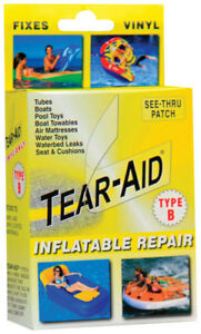 One (1) Tear-Aid Inflatable Repair Type B Vinyl Patch
