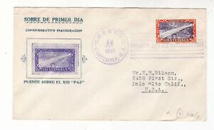 [guatemala]1950 Sc 334 on FDC to USA        t16