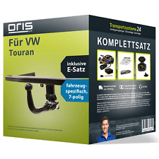 Anhängerkupplung ORIS abnehmbar für VW Touran +E-Satz Kit (AHK+ES)