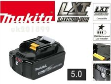 New-Genuine Makita 18V 5.0AH Battery Lithium Ion Cordless BL1850B