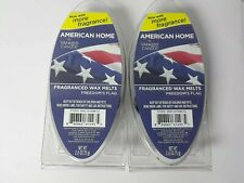 American Home by YANKEE CANDLE Freedom's Flag Wax Melts 2 Packs -12 Melt Cubes