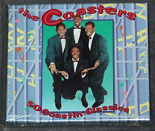 THE COASTERS 50 Coastin' Classics 2-CD US-Import 1992 Rhino OOP MINT