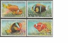 Papua New Guinea 1987 ANEMONE FISH (4) Unhinged Mint SG 539-42