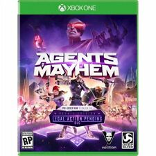 Xbox One 1 Agents of Mayhem NEW Sealed REGION FREE USA Plays on all consoles!