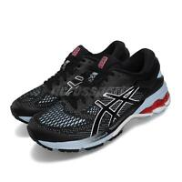 Asics Gel-Kayano 26 Black Heritage Red Women Running Shoes Sneakers 1012A457-003