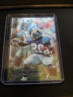 BARRY SANDERS 1995 Fleer Metal Detroit Lions #66 Foil