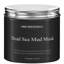 Dead Sea Mud Mask (UK Seller) face moisturiser deep skin cleanser acne clearing