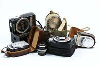 Vintage Light Exposure Meters Lot of 7 Various Brands, Argus, Shepard, Sekonic