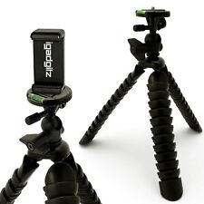 GRANDE Treppiedi flessibile per fotocamere DSLR, Rilascio Rapido + Smartphone Holder Mount