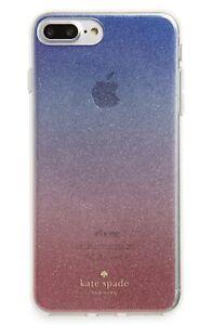 Kate Spade New York 256462 Ombré Sunset Glitter Clear Multi iPhone 7/8 Plus Case