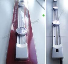 2x LED Unterbauleuchte Lampe Bewegungssensor 90 + 60cm für Vitrine Schrank Küche