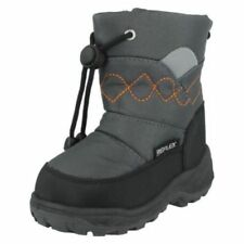Snow Boots Shoes for Boys with Zip