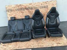 AUDI A5 S5 RS5 8T COUPE LEATHER SEAT SEATS SET FRONT REAR BLACK COLOR OEM