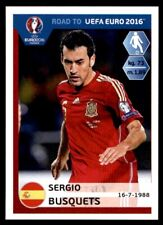 Panini Road to Euro 2016 - Sergio Busquets (Spain) No. 88