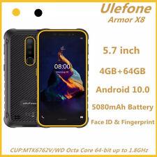 "Ulefone Armor X8 Rugged Smartphone 4GB 64GB 5080mAh 5.7"" Android 10.0 Octa Core"