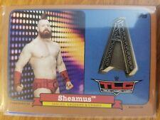 2018 Topps WWE Heritage #CTM-SA Sheamus TLC Commemorative Medallion Bronze 93/99