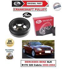 GATES TVD CRANKSHAFT BELT PULLEY for MERCEDES BENZ SLK R170 320 Cabrio 2000-2004