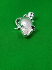 925 sterling silver mouse animal pendant Gift love men women fashion jewelery