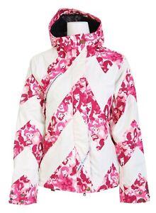 Women Ride x Tokidoki Designer Snowboarding Ski Jacket Super Cute Pink White