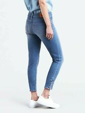 Levis Womens 311 0001 Snap Up Shaping Skinny Stretch Denim Jeans 2 Short 26 x 26