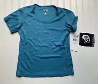 MOUNTAIN HARDWARE WOMENS WICKED S/S T SHIRT Tee Small NEW