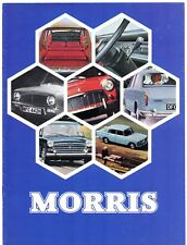 Morris 1969-70 UK Market Sales Brochure Mini 1100 1300 Minor Oxford 1800