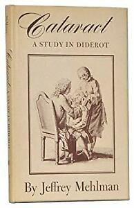 Cataract : A Study in Diderot Hardcover Jeffrey Mehlman