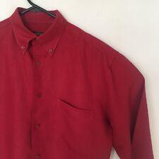 Vintage Geoffrey Beene Button Down Long Sleeve Linen Shirt