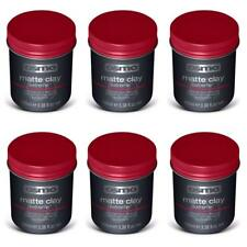 Osmo Extreme  Matte  Clay Wax Strong Hold,Texture & Wax 100ml x 6 Tubs (Red Lid)
