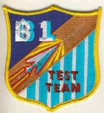 """498 - Distintivo Patch AIR FORCE United States """"B-1"""""""