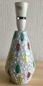 "Beautiful Little Mid Century Ceramic Lamp 11""  High"