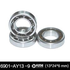1PC - 6901UG (3x24x6 mm) RC Engine Bearing Glow Plug Model Ball Bearings 9 Balls