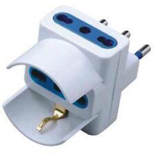 Axel adaptador Tapón Triple S17 16a 2p T tomada by-pass toma de corriente con