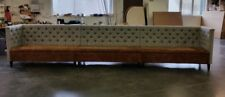 Commercial  fixed seating Pub, Restaurant Booth Seating, Banquette, Corner sofa