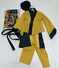 Boys Karate Samurai Halloween Costume S 4 6 Hat Jacket Shirt Pants Belt