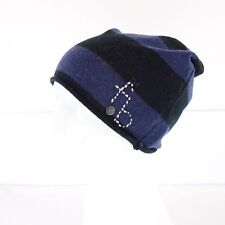 frogbox Princess Goes Hollywood Cap Beanie Hat Wool Cashmere Stripes NP 49 NEW