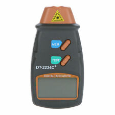 Laser Digital Tachometer Gives Exact RPM Includes Reflecting Tape Markers